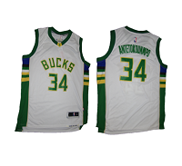 Budget Milwaukee Bucks White Gianis Antetokounmpo - Free Delivery
