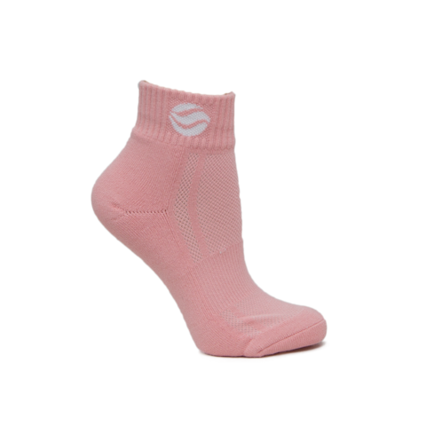 BASKETBALL AUS PINK MID SOCKS