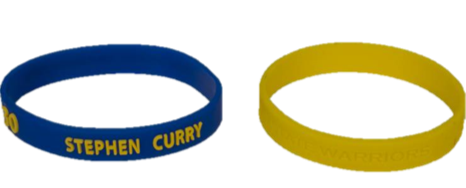 Golden State Warriors Stephen Curry - Wrist Band