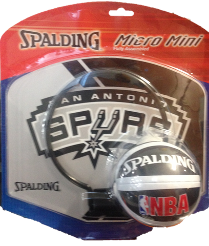 San Antonio Spurs Mini Backboards