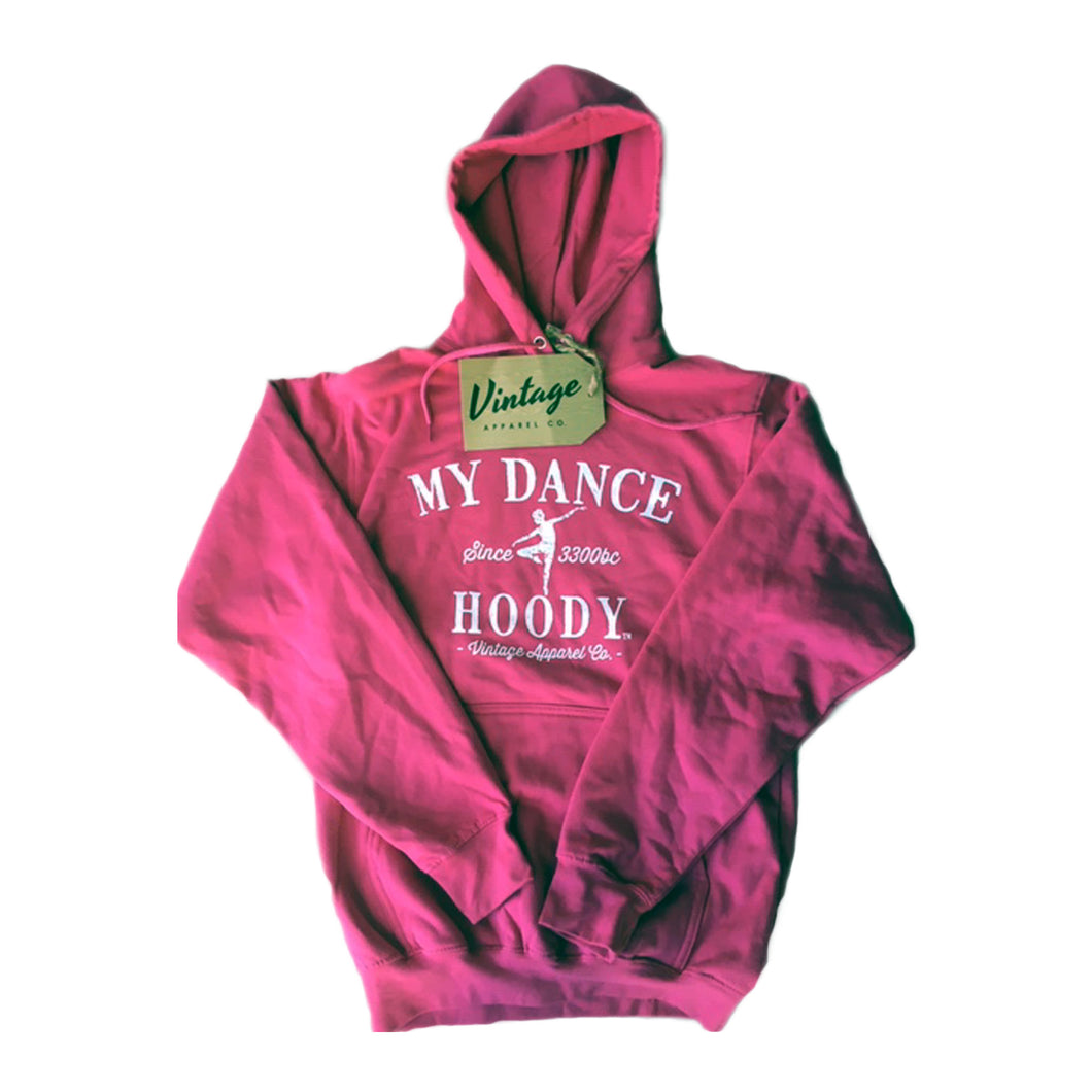 Product image of VINTAGE APPAREL CO. My Dance Hoody - Kids, Style: ATCY2500, Colour: Sangria.