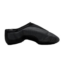 Load image into Gallery viewer, Product image of BLOCH Pulse Leather Jazz Shoe, Style: S0470L, Color: Black, View: Side.