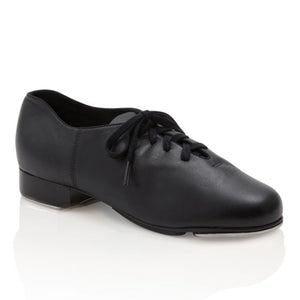 Product image Capezio Candence Tap Shoe, shown in black .