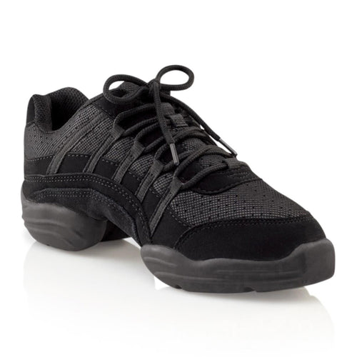 Product image of Capezio Rock It Dansneaker, style SD24, color black.