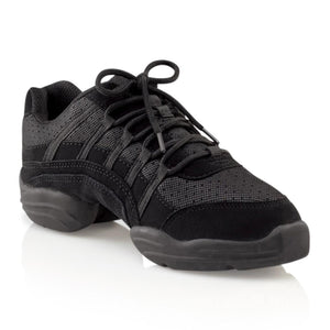 Product image of Capezio Rock It Dansneaker, style SD24C, color black.