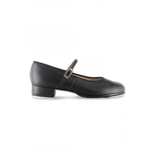 Load image into Gallery viewer, Product image of Bloch Ladies Tap On Leather Tap Shoe, style S0302L, shown in color black, side view.
