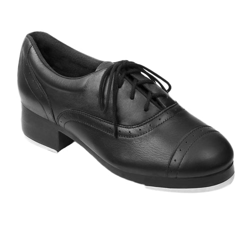 Product image of: BLOCH Jason Samuels Smith Tap Shoe, Style: S013L, Color: Black, View: Side, Top.