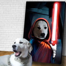 Load image into Gallery viewer, Digital Custom Dog Portraits With Fun Themes
