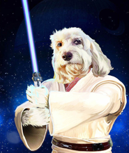 Load image into Gallery viewer, Sci-Fi Digital Custom Pet or Human Portrait With Fun Themes