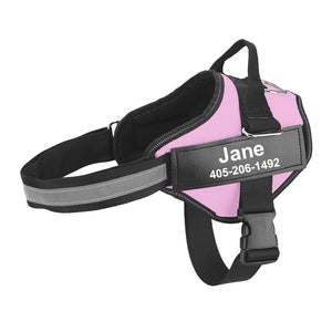 No PULL Easy On Easy OFF Personalized Dog Harness