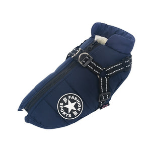 Superior Waterproof Dog Jacket & Harness (All Dog Sizes Available)