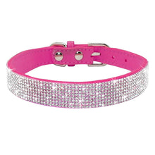 Load image into Gallery viewer, Rhinestone Dog Collar By Doggy Bunch