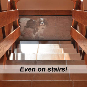 Dog Gate for Stairs By Doggy Bunch