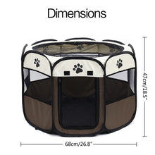 Load image into Gallery viewer, Portable Folding Dog & Cat Tent