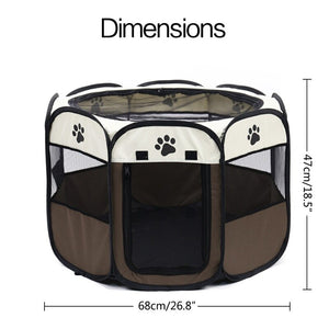 Portable Folding Dog & Cat Tent