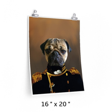 Load image into Gallery viewer, The Admiral Custom Dog & Pet Poster