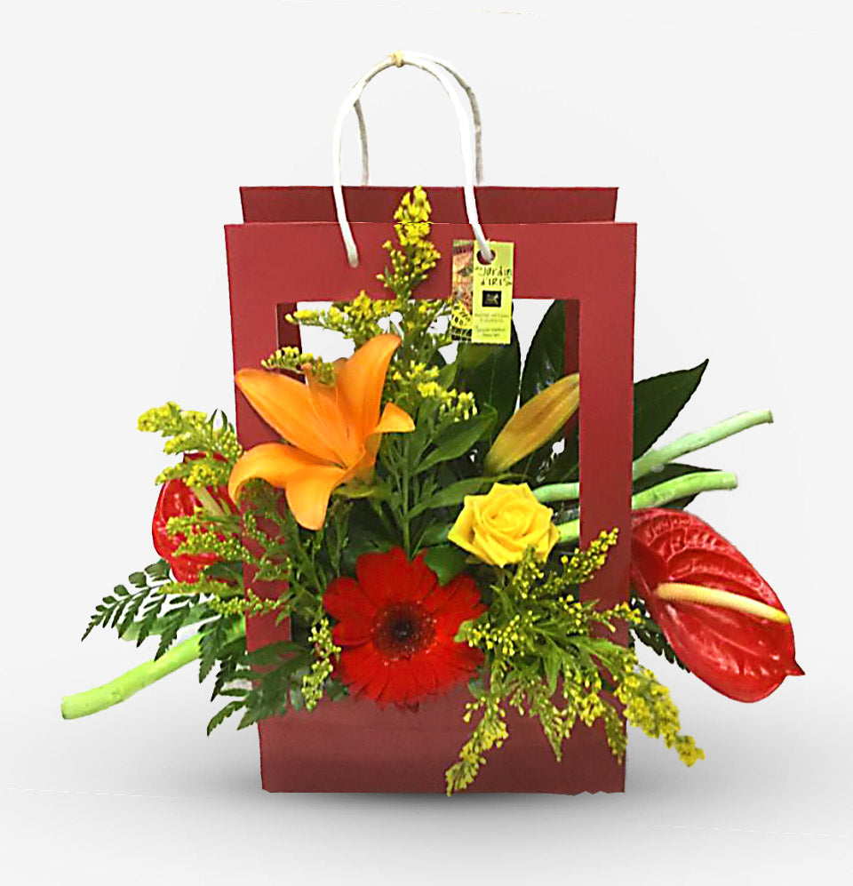Flamboyant (Porte Bouquet)