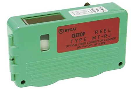 CLETOP for MT-RJ with pins (White Tape)-14100101 - Connectedfibers-Online