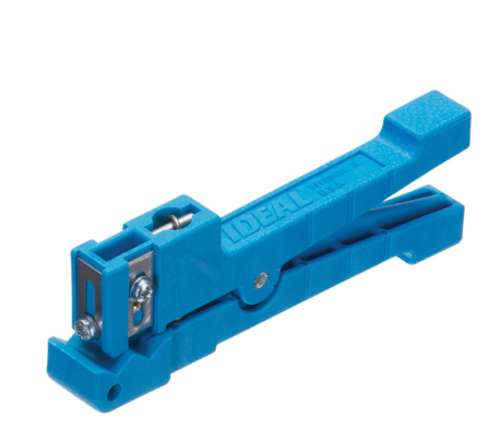 Ideal 45-163 BLUE ADJUSTABLE BLADE RINGER™ STRIPPERS - Connectedfibers-Online