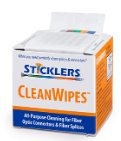 Sticklers CleanWipes All Purpose Fiber Optic Cleaning System - Connectedfibers-Online