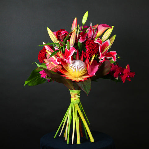Designed By... Hand Tied Bouquet 'Oriental Dreams'