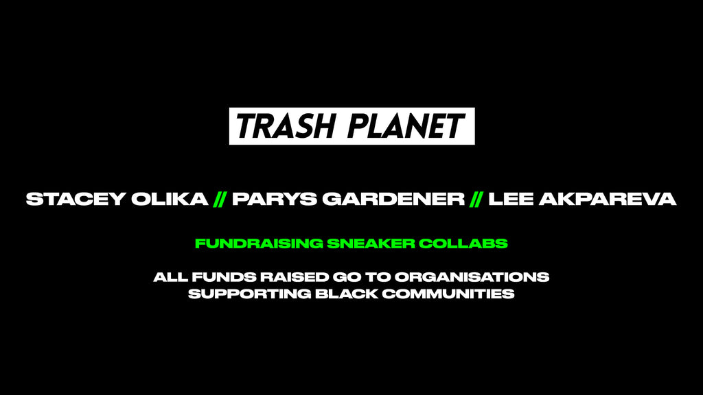 Trash Planet x BLM Fundraiser for Black Community Projects and Charities