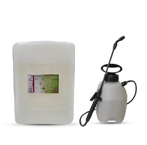 5 Gallon Surface Sanitizer with fine mist sprayer