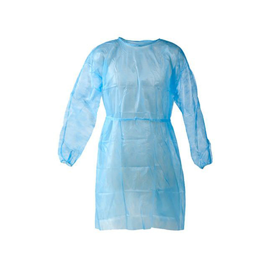 Isolation gown reusable
