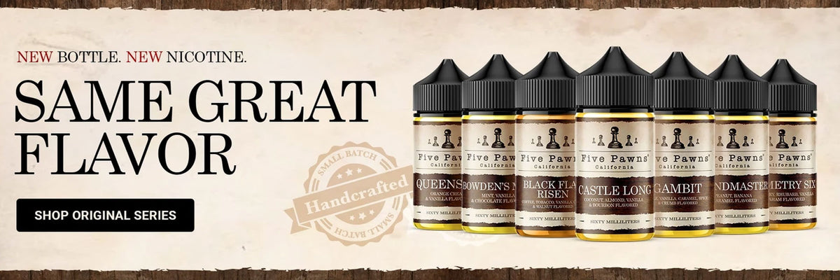 Five Pawns E Liquid - Dukkan Vape UAE Vapors