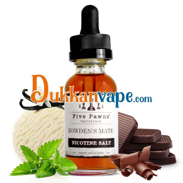 Bowden's Mate - Five Pawns Nicotine Salt - 30mL - Dukkan Vape UAE Vapors
