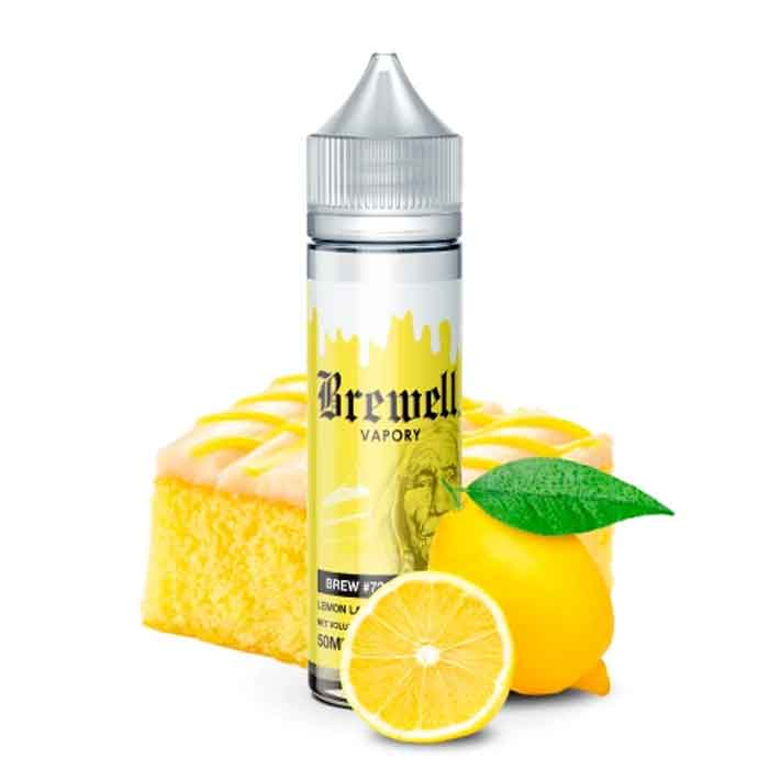 Lemon Layer Cake - Brewell E Juice - Dukkan Vape UAE
