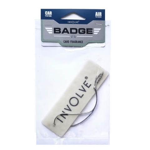 Involve® Badge : Hanging Freshener - 5pc