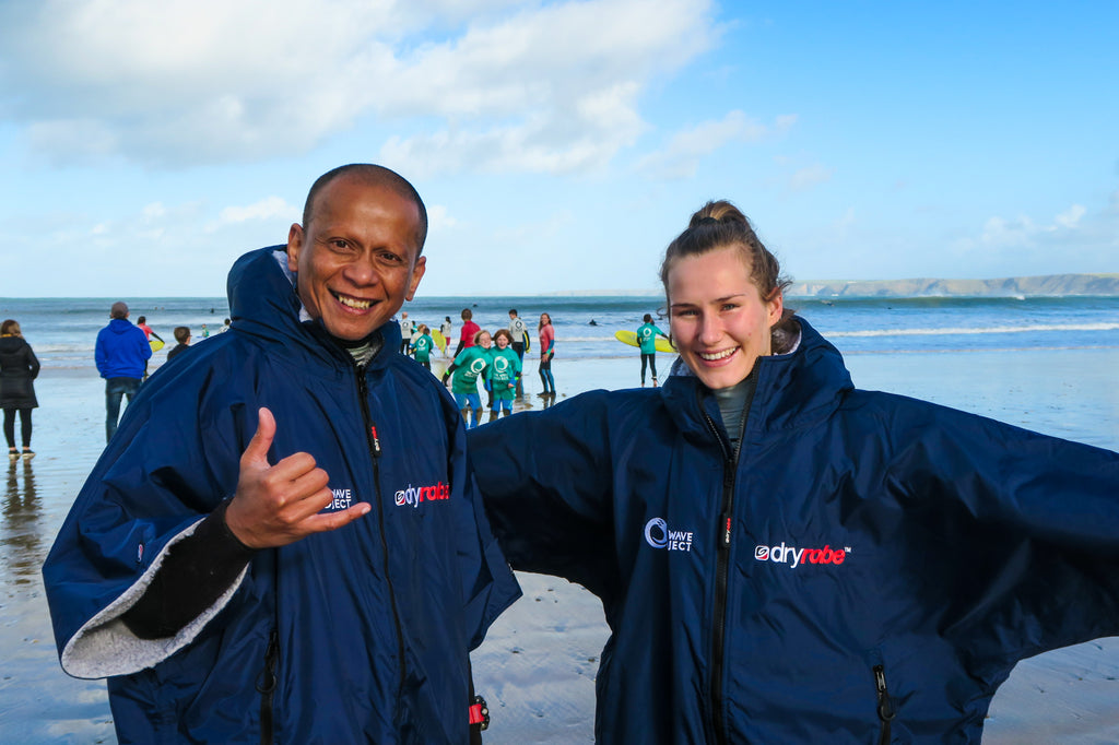 dryrobe Partners with The Wave Project