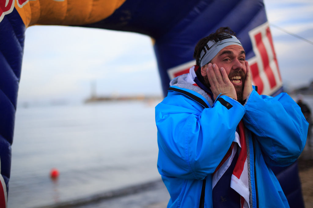 Ross Edgley finishes his Great British Swim - Interview