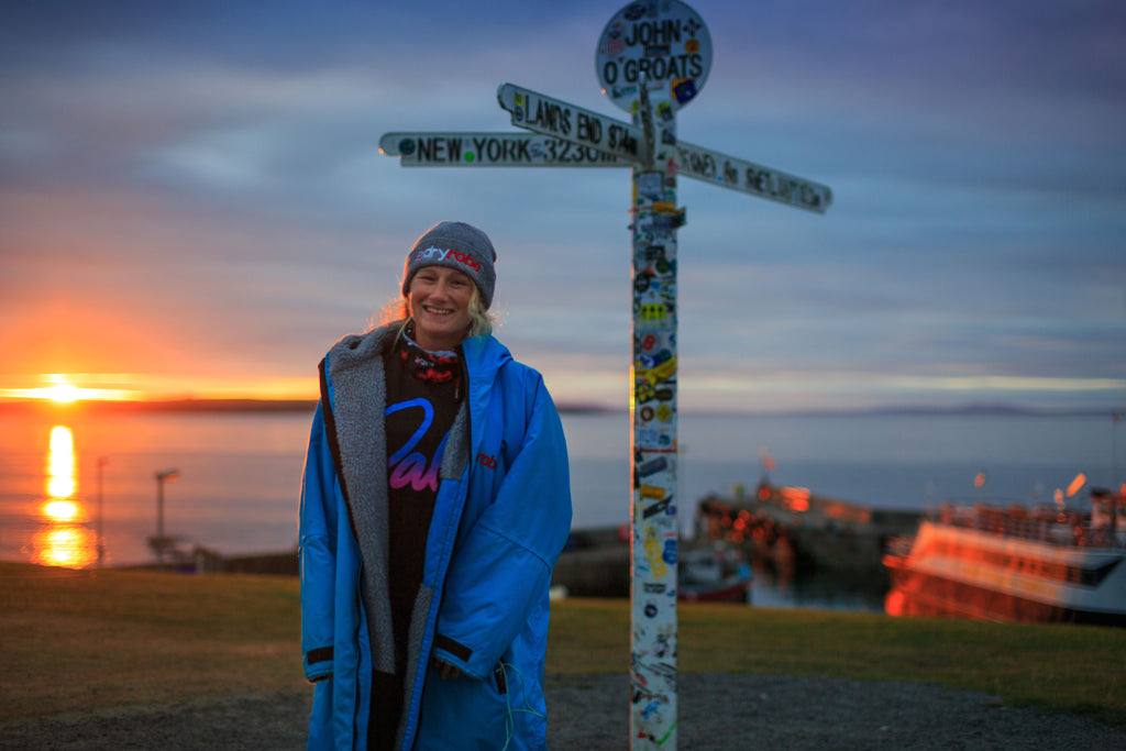 Cal Major Catch Up - Paddling Land's End to John O'Groats