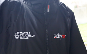 dryrobe and Castle Triathlon prepartation zones
