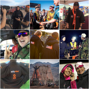 dryrobe at World's Toughest Mudder