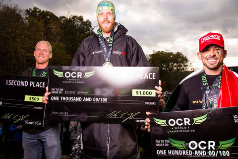 OCR World Championships #dryrobe