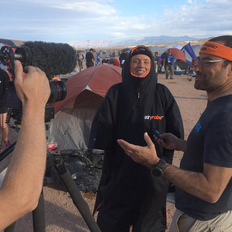 dryrobe, amelia, boone, tough, mudder, world's, toughest, las, vegas, dryrobeterritory, USA