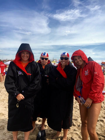 Lifesavers Worldchampionship team usa dryrobe