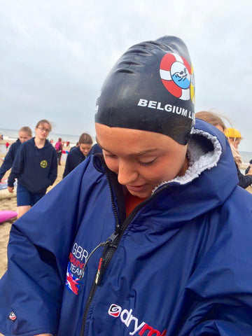 Lifesaving team GB dryrobe