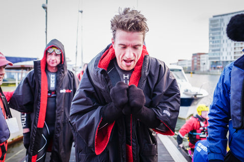 Greg James & Greg Whyte - Sport Relief - dryrobe