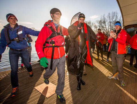 Greg James Sport Relief - dryrobe