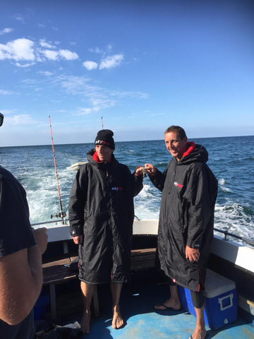 lundy, swim, dryrobe, charity, challenge, bude