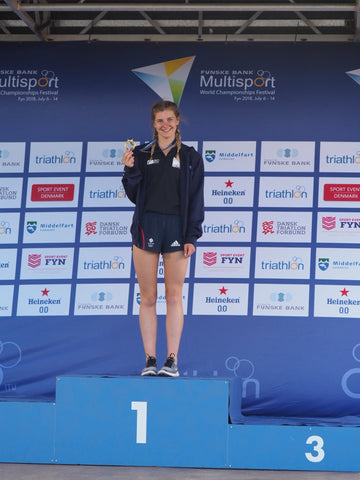 Rachael Vatter - World Aquathon Champion 2018