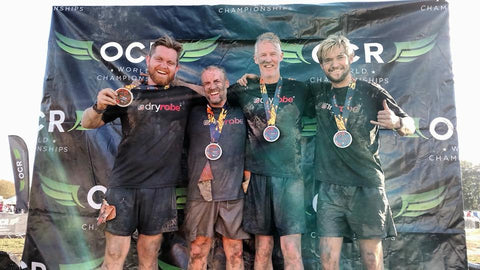 dryrobe, dryrobeterritory, OCR, OCRWC, world, championships, UK, 2018