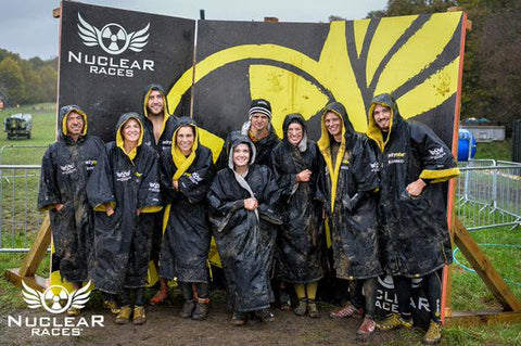 team Obstacle course race | nuclear races dryrobes