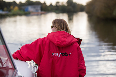 dryrobe, advance, long, sleeve, sailing, boating, outdoors