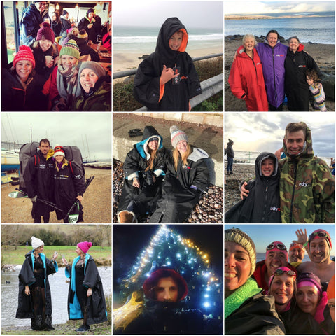 dryrobe, dryrobeterritory, christmas, new, year, swim, surf, SUP, OCR, run, running, open, water, swimming, surfing