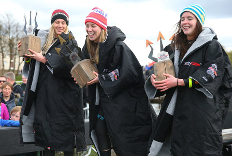 Red Bull Neptune steps podium Women | dryrobe